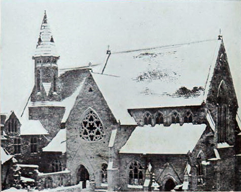 Hansom church, new in 1856