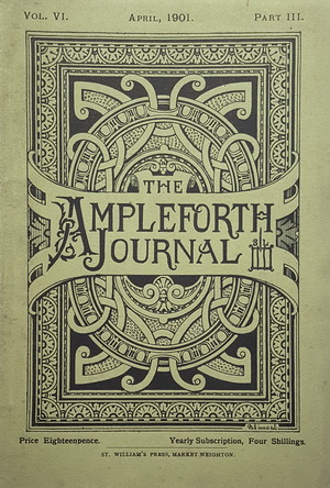 Cover design by Bernard Smith (OA 1865), architect of the New Monastery